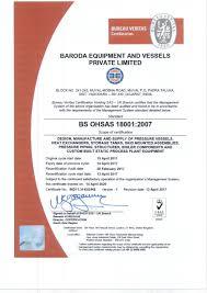 bureau veritas mumbai office baroda equipment and vessels pvt ltd