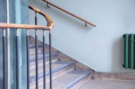 Replace Stair Banister Stairs How To Install Stair Railing Easily Stair Handrail Install