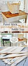 Homemade Wood Table Top by Best 25 Diy Table Top Ideas On Pinterest Chairs For Dining