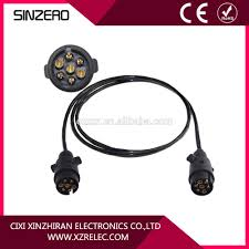7 cable wires car trailer power cable xzrt007 trailer coiled wire