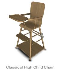 Simple High Chair Mod The Sims The 50 U0027s Children Chair