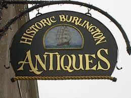 historic burlington antiques rental space