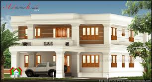 Home Design For 4 Cent by 2800 Square Feet Big House Elevation Architecture Kerala