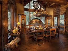 log home dining rooms beautiful log cabin dining room ideas full