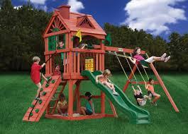 peaceably swings wooden playground sets sale backyard swing in