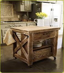 Casters For Kitchen Island Great Vintage Wood Kitchen Island Country Hgtv In On Casters Decor