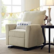 Stylish Recliner by Dorel Living Baby Relax Raleigh Gliding Recliner Beige