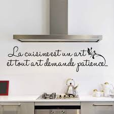 stickers texte cuisine sticker alu protection cuisine top beautiful simple vaisselier en