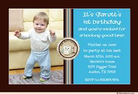 whoo owl 1st birthday invitations photo little party