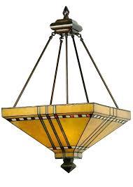 small tiffany style ls inverted pendant light