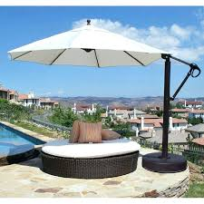 Cantilever Patio Umbrella With Base Luxury Cantilever Patio Umbrella Or Large Cantilever Patio