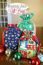 gift bags christmas yesterfood jar gift bags tutorial