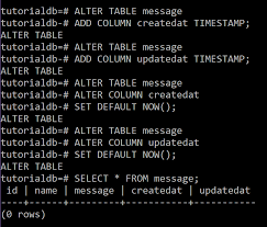 Postgresql Alter Table Add Column Back End Basics With Node Js Postgresql Sequelize And Feathersjs