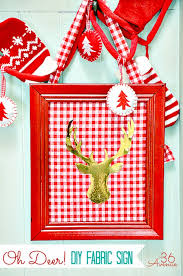 Christmas Decorations Red Deer by Simple Christmas Decor Diy Projects Craft Ideas U0026 How To U0027s For