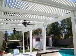 the shade makers open lattice patio covers