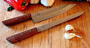 Wood Carving Kitchen Knife by Kitchen Knife Kits
