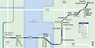 Link Light Rail Map Esterra Park About Transportation