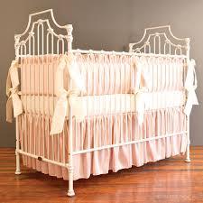 blush crib bedding