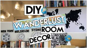 Worldly Decor Diy Wanderlust Room Decor World Map Cloud Lights