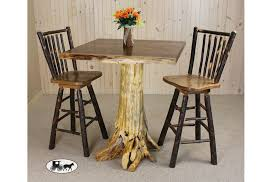 amish and adirondack pub sets gathering tables new york