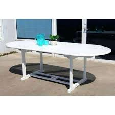 White Aluminum Patio Furniture by Patio Oval Patio Table Cover Berkshire By Hanamint Luxury Cast