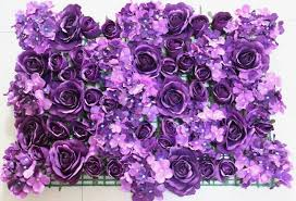 free shipping flowers aliexpress buy spr free shipping purple flower wall