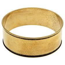 design bangle bracelet images Nunn design antiqued 24kt gold plated round wide channel bangle jpg