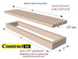 odjo easy to planter box bench seat plans