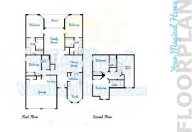 Waterfront Floor Plans by Windsor Hills Home Rental Floridian Haven 5br