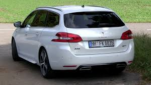 peugeot 308 gti white 2016 peugeot 308 gt wagon acceleration test the golf gtd and