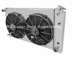 electric radiator fans and shrouds chevy truck aluminum radiator fan shroud 14 electric fans 17 h x