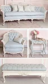 Shabby Chic Funiture by Painted Shabby Chic Furniture Chairs Benches And Couches Oh