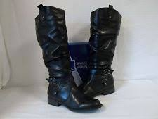 white boots for womens size 9 latigo black womens shoes size 9 m boots ebay