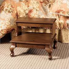 antique bed steps with draw by powell furniture 961 535