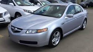 pre owned silver 2004 acura tl 3 2l manual fwd review athabasca