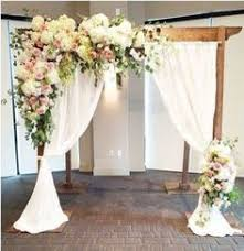 Wedding Arches Decorated With Tulle Tulle Decorated Wedding Arches Any Of Dream Days Rental Items