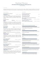 business management resume exles business manager resume sles visualcv resume sles database