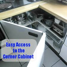 how to organize corner kitchen cabinets open up the kitchen corner cabinet with a blast