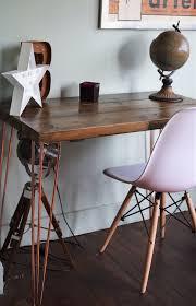 industrial hairpin leg desk rustic industrial desk chair hairpin leg table copper crome legs