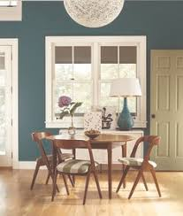 Behr Paint In Caribe I Would Have Never Thought To Paint A - Teal dining room
