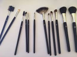 the glamourelle w7 professional brush set review