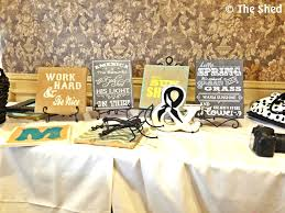 monogram plaques diy monogram wall with burlap paint and wood