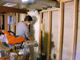 basement wall insulation opt to a proper method