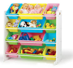 Toy Organizer Ideas Decorating Chic Tot Tutors Toy Organizer In White Holder Made Of