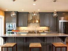 Painted Kitchen Cabinet Ideas HGTV - Colors for kitchen cabinets