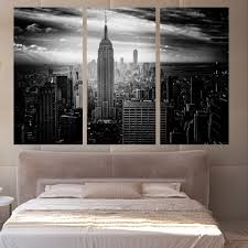 new york city home decor compare prices on new york buildings oil paintings online