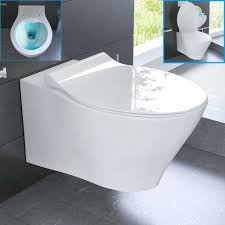 Wc Suspendu Grohe Pas Cher by Cuvette Wc Suspendue Blanche Abattant Et Bati Support Amazon Fr