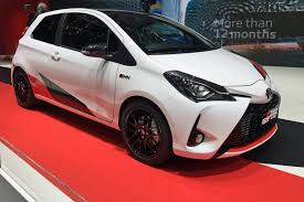 new toyota yaris grmn a hatch dark horse by car magazine