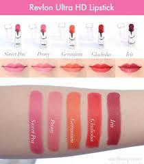 tutorial lipstik revlon my revlon super lustrous creme lipstick collection revlon super