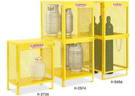 flammable gas storage cabinets propane cylinder storage gas cylinder storage in stock uline ca